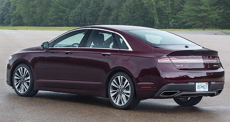 2017 Lincoln Mkz Rear Three Quarters