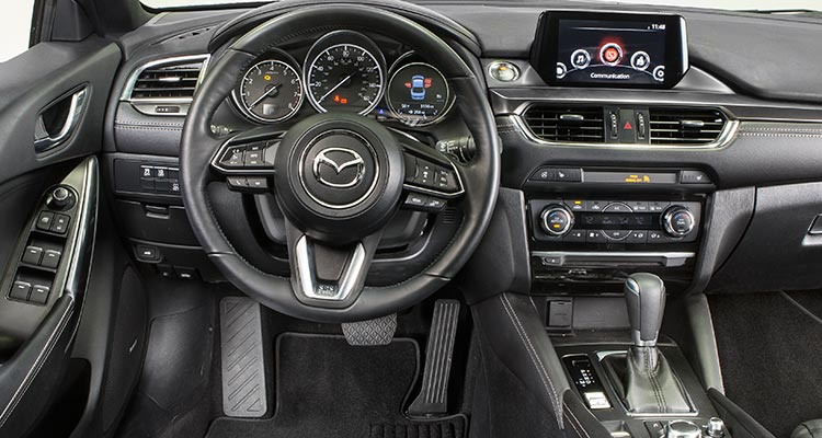 stylish frugal 2017 mazda6 sedan consumer reports