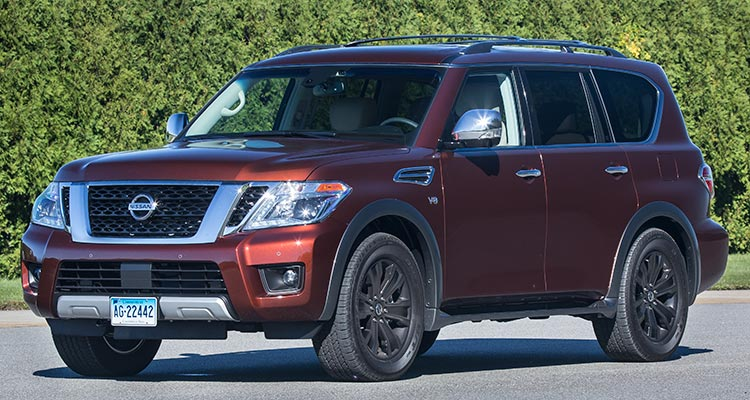 2017 Nissan Armada Handles Like a Boat, With a Very Retro Feel ...
