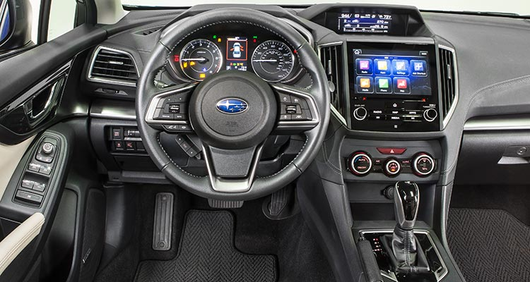 2017 Subaru Impreza interior