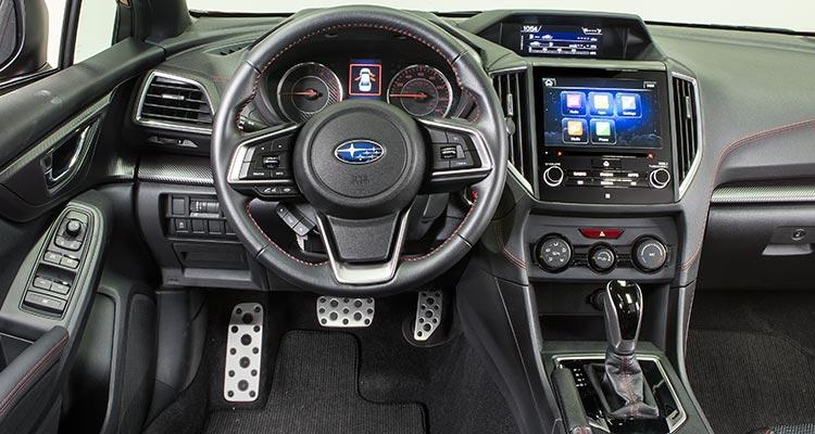 2017 Subaru Impreza Sport Interior