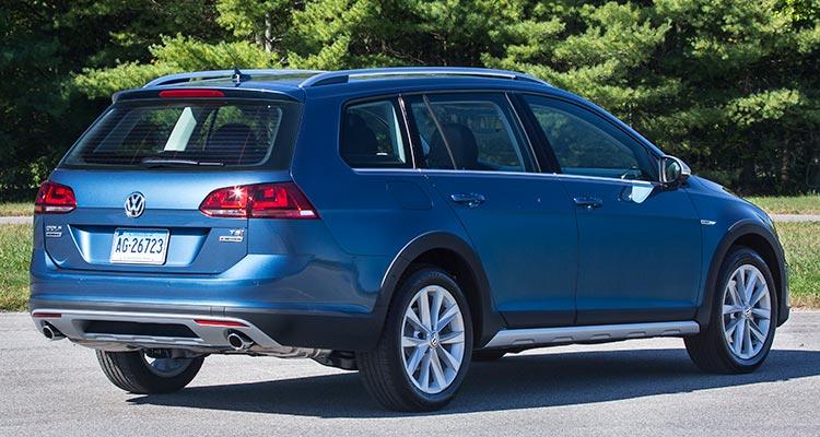 Volkswagen Alltrack Rear