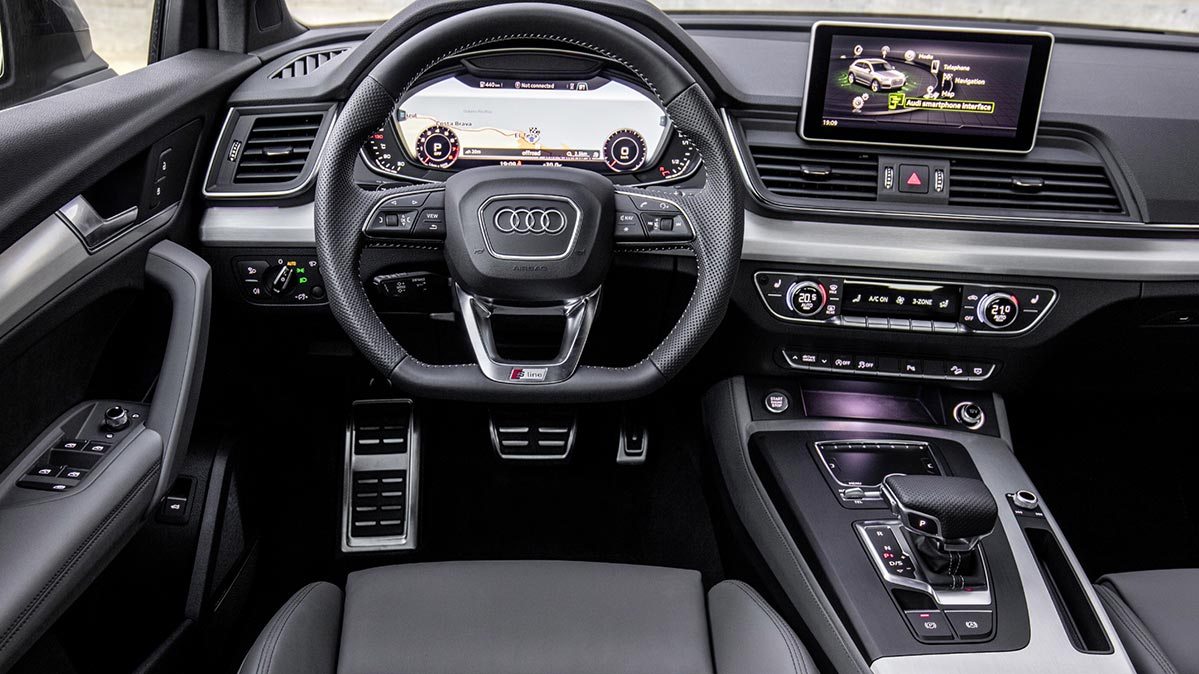 2018 audi q5 suv interior car models 2018 2019. Black Bedroom Furniture Sets. Home Design Ideas