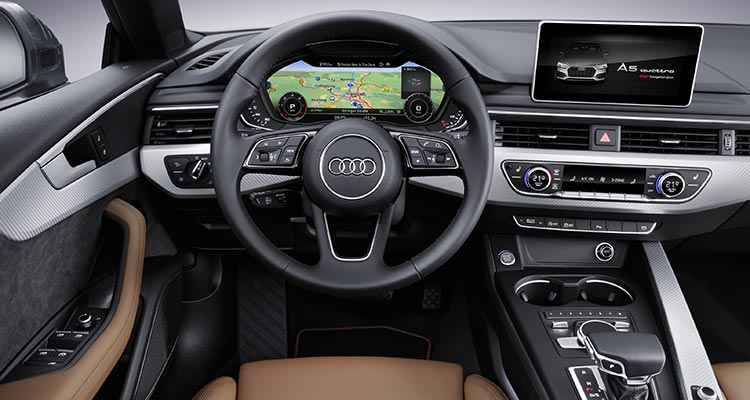 Audi says the new Sportback has seating for up to five passengers ...