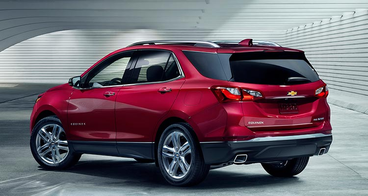 2018 Chevrolet Equinox Rear