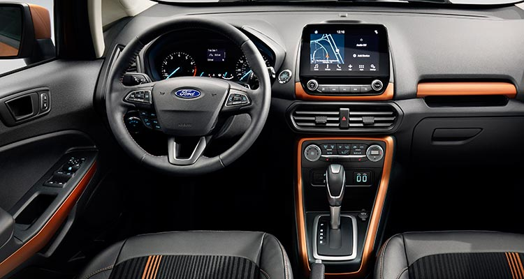 2018 ford ecosport. wonderful ford 2018 ford ecosport suv interior in ford ecosport s