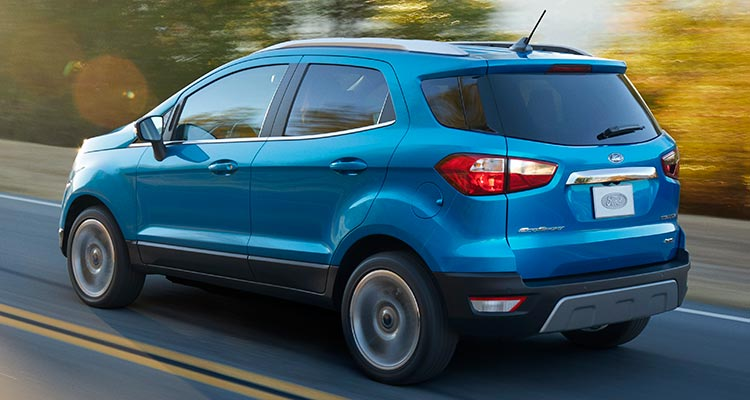 2018 ford cars. Simple Cars 2018 Ford EcoSport SUV Rear Intended Ford Cars
