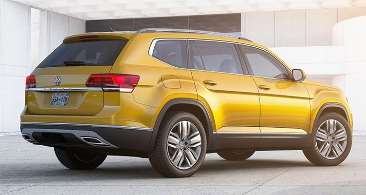 2018 volkswagen atlas. Modren Atlas 2018 Volkswagen Atlas Rear With Volkswagen Atlas