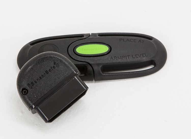 Evenflo SensorSafe Chest Clip And Wireless Receiver