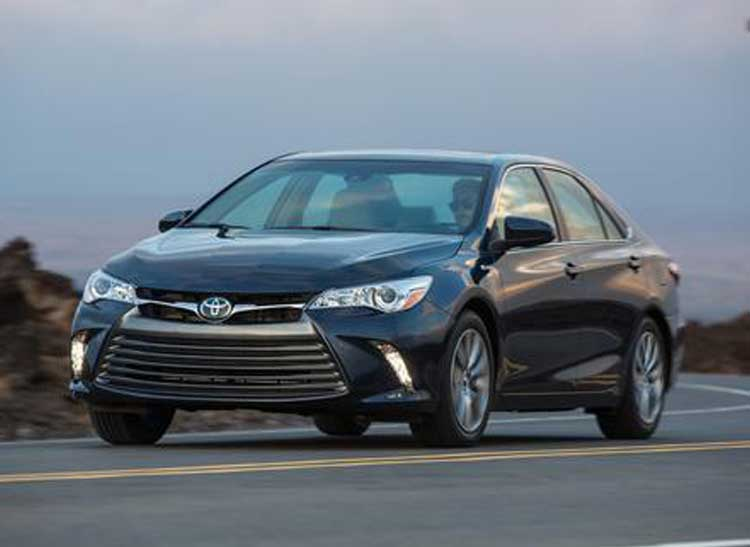 Toyota Camry Hybrid is ideal for a family road trip