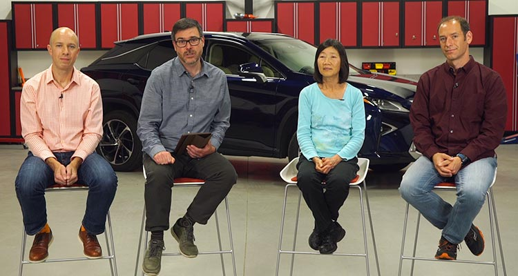 Jon Linkov, Tom Mutchler, Anita Lam, and Jake Fisher discuss car brand reliability