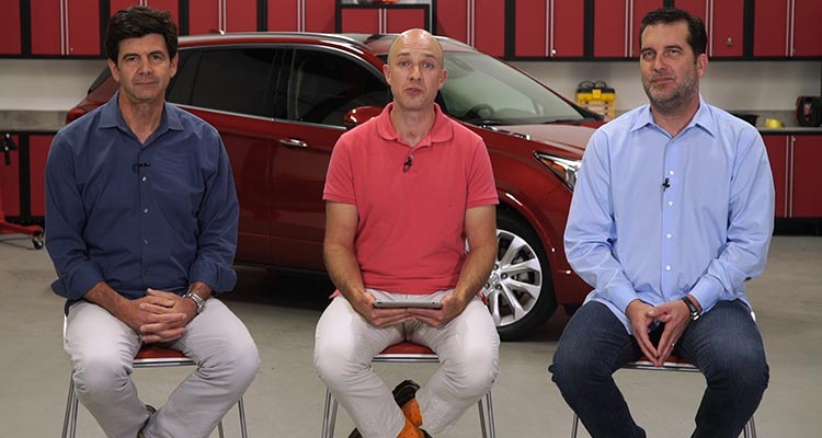Gabe Shenhar, Jon Linkov, and Mark Rechtin discuss the Buick Envision, Jaguar F-Pace, and More