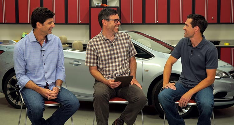 Gabe Shenhar, Tom Mutchler, and Mike Monticello opens up about the Buick Cascada