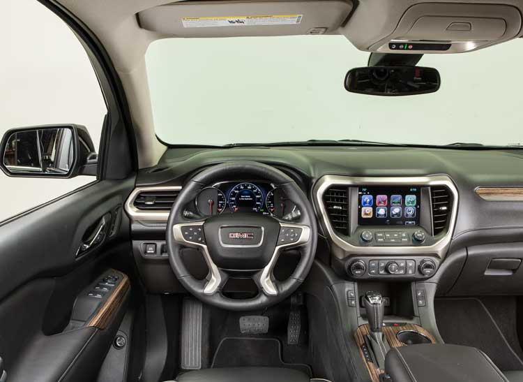 Redesigned 2017 Gmc Acadia Goes On A T Consumer Reports