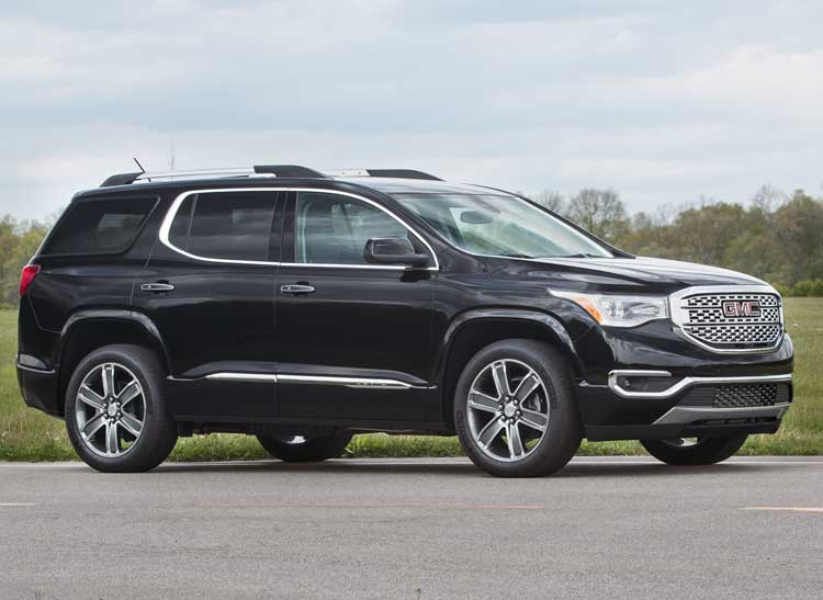 2017 gmc acadia black 200 interior and exterior images. Black Bedroom Furniture Sets. Home Design Ideas