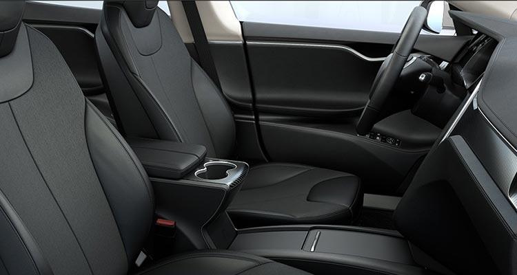 Tesla Model S Updated Interior