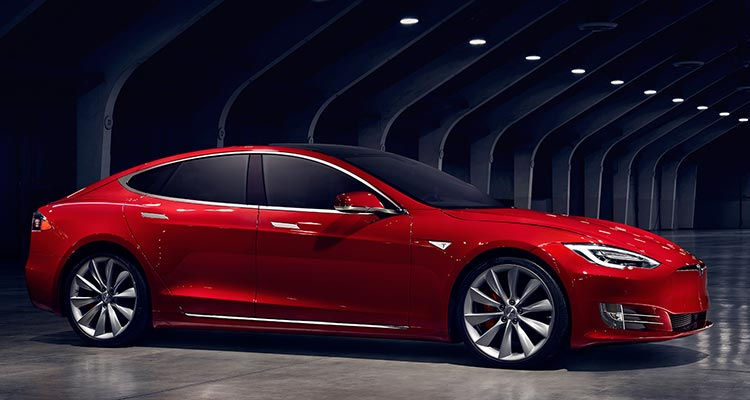 Top cars: Tesla Model S P85D