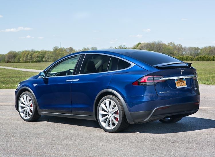 Tesla Model X Electric Vehicle