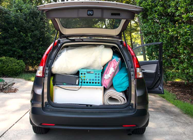 Car-Packing Tips for Heading Back to School