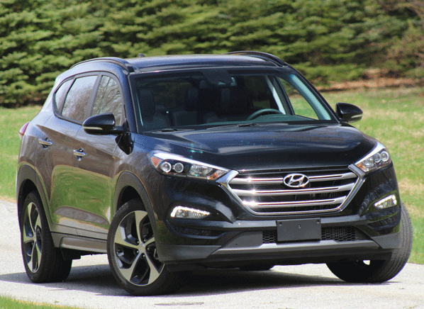 The Hyundai Tucson Spent Last Decade Mired In Mediocrity But Redesigned 2016 Model May Have Broken Free Of That Cycle Shouldering Its Way Forward