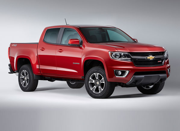 Delightful Redesigned 2015 Chevrolet Colorado Pickup Promises 21 Mpg. Prices Start At  $21K But Climb Quickly Into Fullsized Truck Territory
