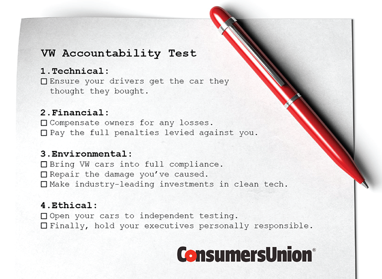 VW accountability test