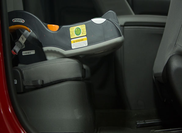 Clever Child Seat Installation In Extended Cab Pickups