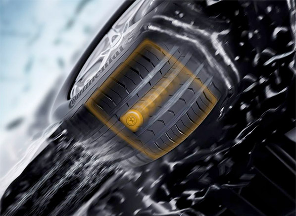 Continental Etis Monitors Tire Pressure And Wear