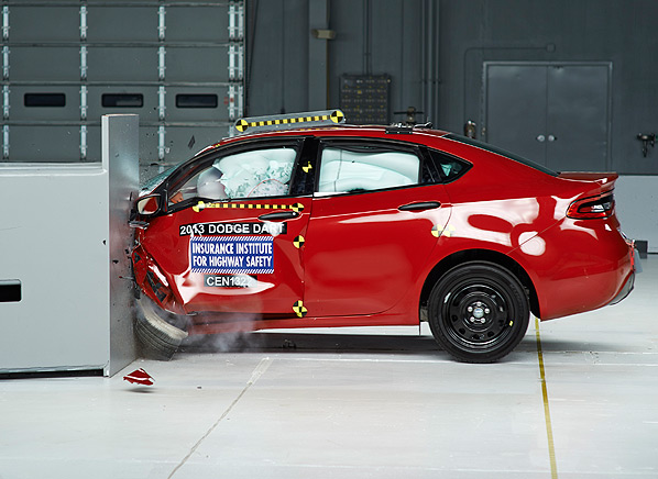 10 Small Cars Subjected To New Iihs Crash Test Overlap Consumer Reports News