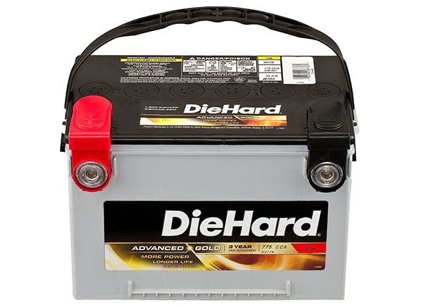 Interstate Gold Car   Battery