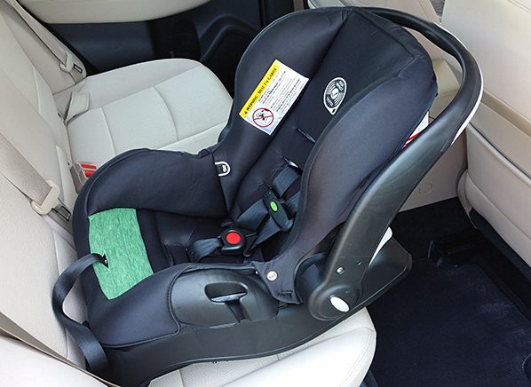 Clever Evenflo Infant Car Seat Uses Tech to Combat Heatstroke Risk ...