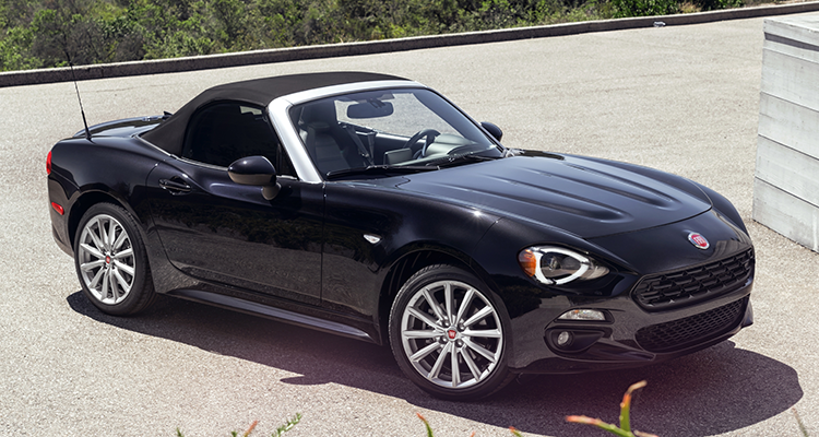 Fiat Chrysler Automobiles Is Recalling 8 933 Of Its 2017 To 2019 Spider 124 Convertibles Because A Problem May Cause The Automatic