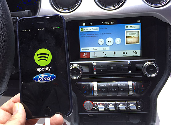 ford sync 3 is faster simpler and easier to use ces. Black Bedroom Furniture Sets. Home Design Ideas