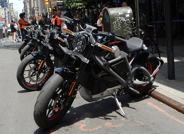 Harley Says It Would Take About 10 Hours To Charge The LiveWire On 110 Volts Making Battery KWh In Capacity But Its Tour Around North