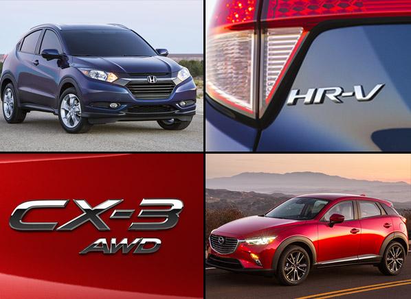 Sport Cute Smackdown Honda Hr V Vs Mazda Cx 3 Consumer