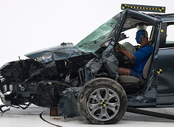 Honda Pilot, Kia Sorento, Mazda CX-9 | Crash Test ...