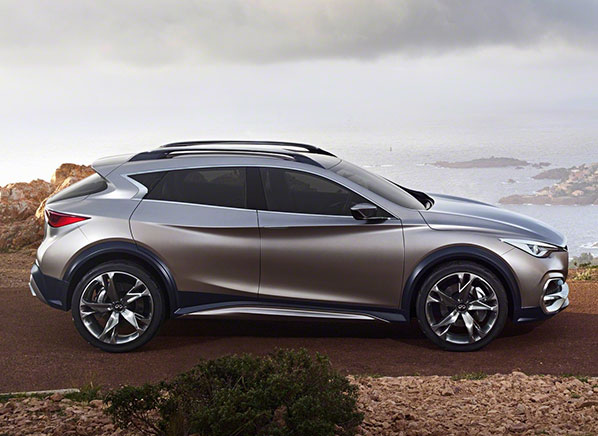 Striking Infiniti Qx30 Suv Concept Compact Crossover Targets Young And Youthful Ers