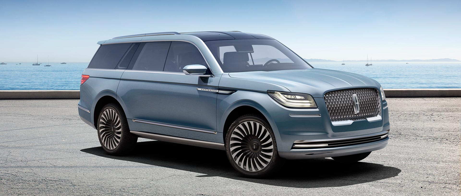 Lincoln Navigator Concept Hints At What S To Come In 2018