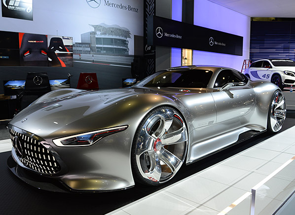 7 hottest cars 2013 la auto show consumer reports news for Mercedes benz amg vision gt price