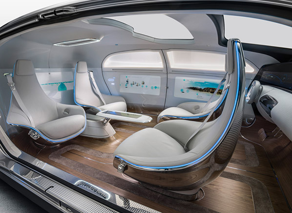Mercedes Benz Luxury In Motion Concept Car Ces 2015 Consumer Reports