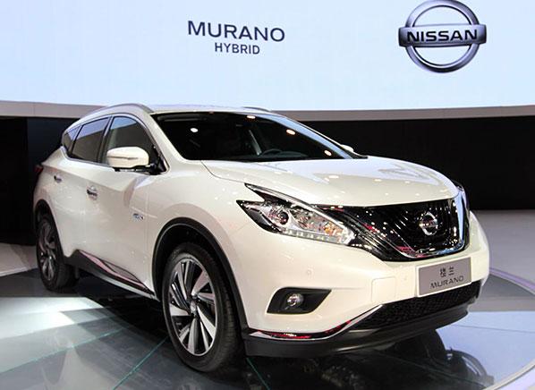 Hybrid Nissan Murano Suv Makes Auto Show Appearance