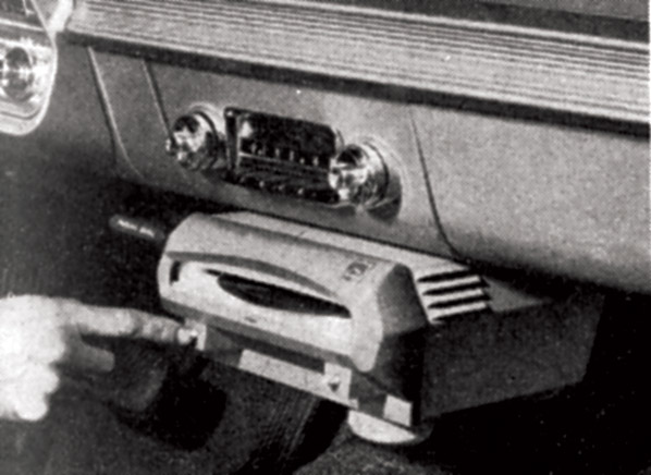 car record players of the 1950s and 1960s early infotainment