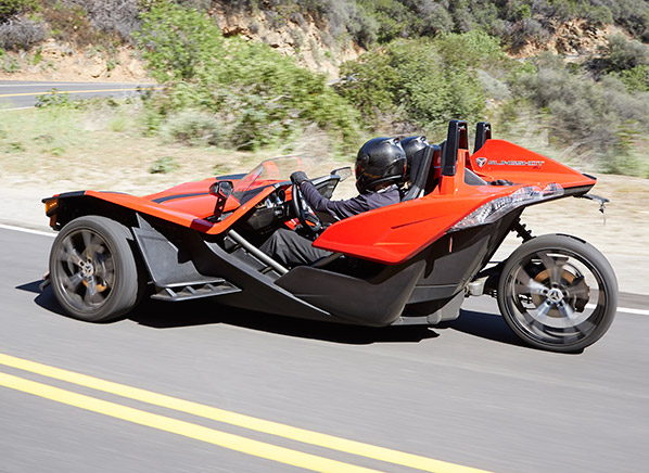 radical polaris slingshot is part car part motorcycle consumer reports news. Black Bedroom Furniture Sets. Home Design Ideas