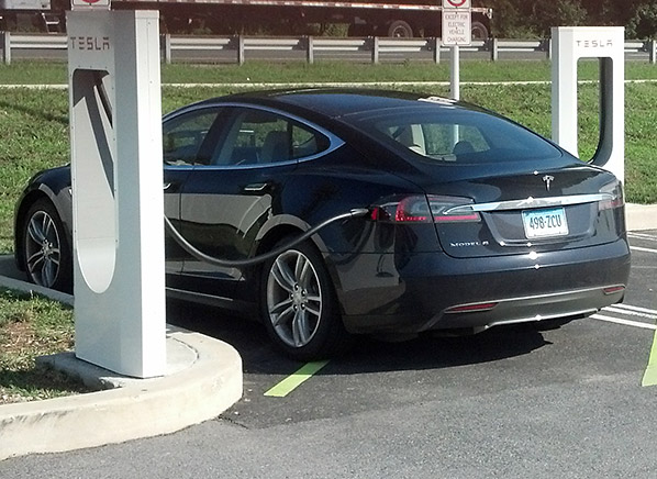 Tesla Model S Road Trip Electric Car Consumer Reports