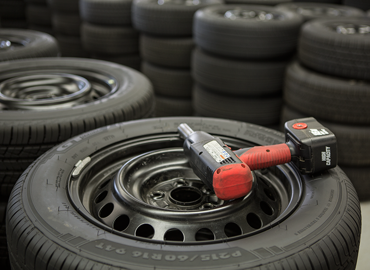 A shop can handle installing tire replacements for your car