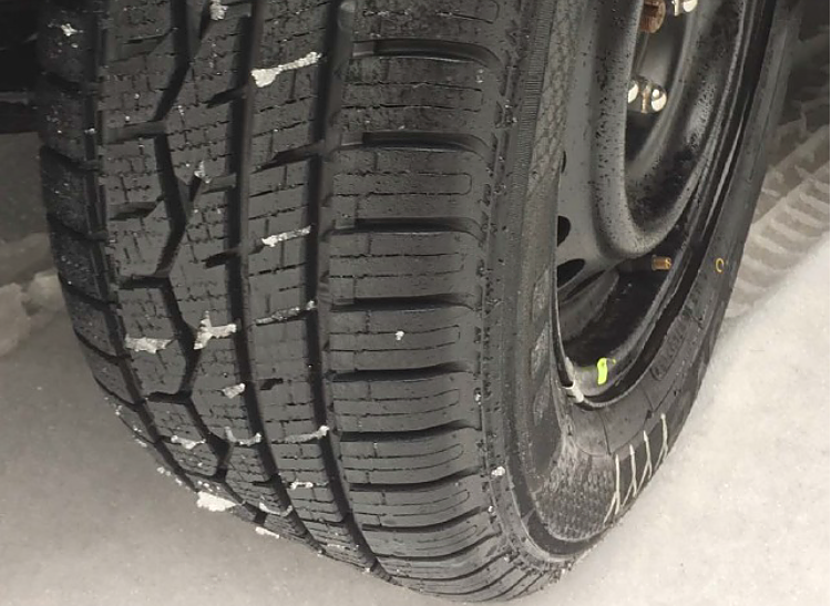 Toyo Celsius is a winter tire that can stay on the car year round