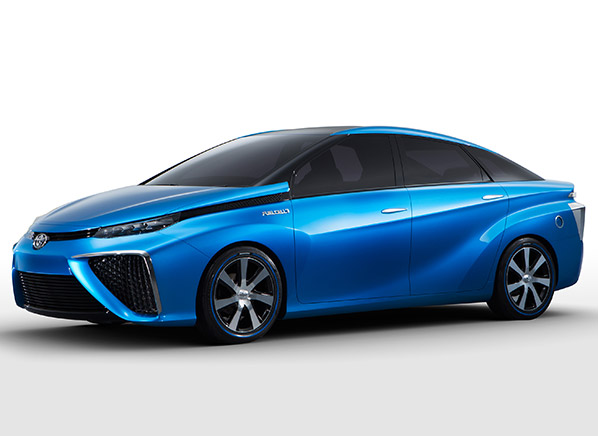 Toyota FuelCell Car  CES 2014  Consumer Reports News