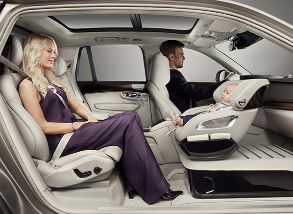Clever Volvo Child Seat Concept Has Appeal Consumer Reports