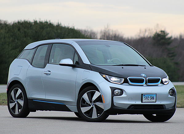 The Bmw I3 Earned One Of Highest Scores Any Electric Car When We Tested It But Gave Us A Few Disconcerting Moments Were Driving This