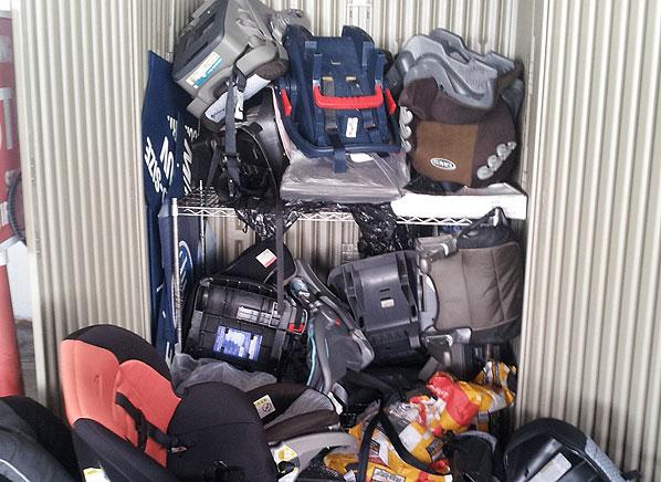 Convertible Car Seat Travel Bag